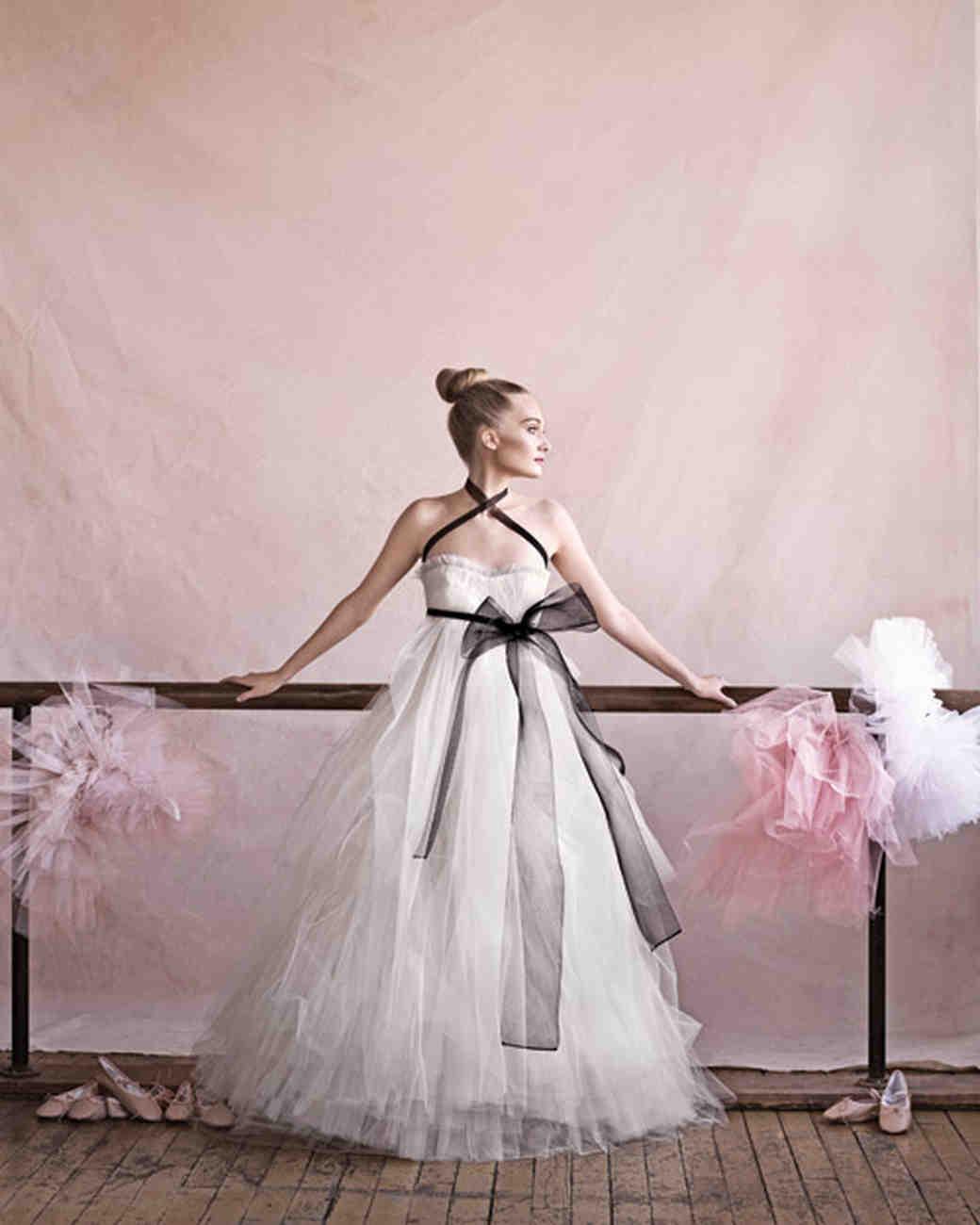 Ballerina Style Wedding Dress
