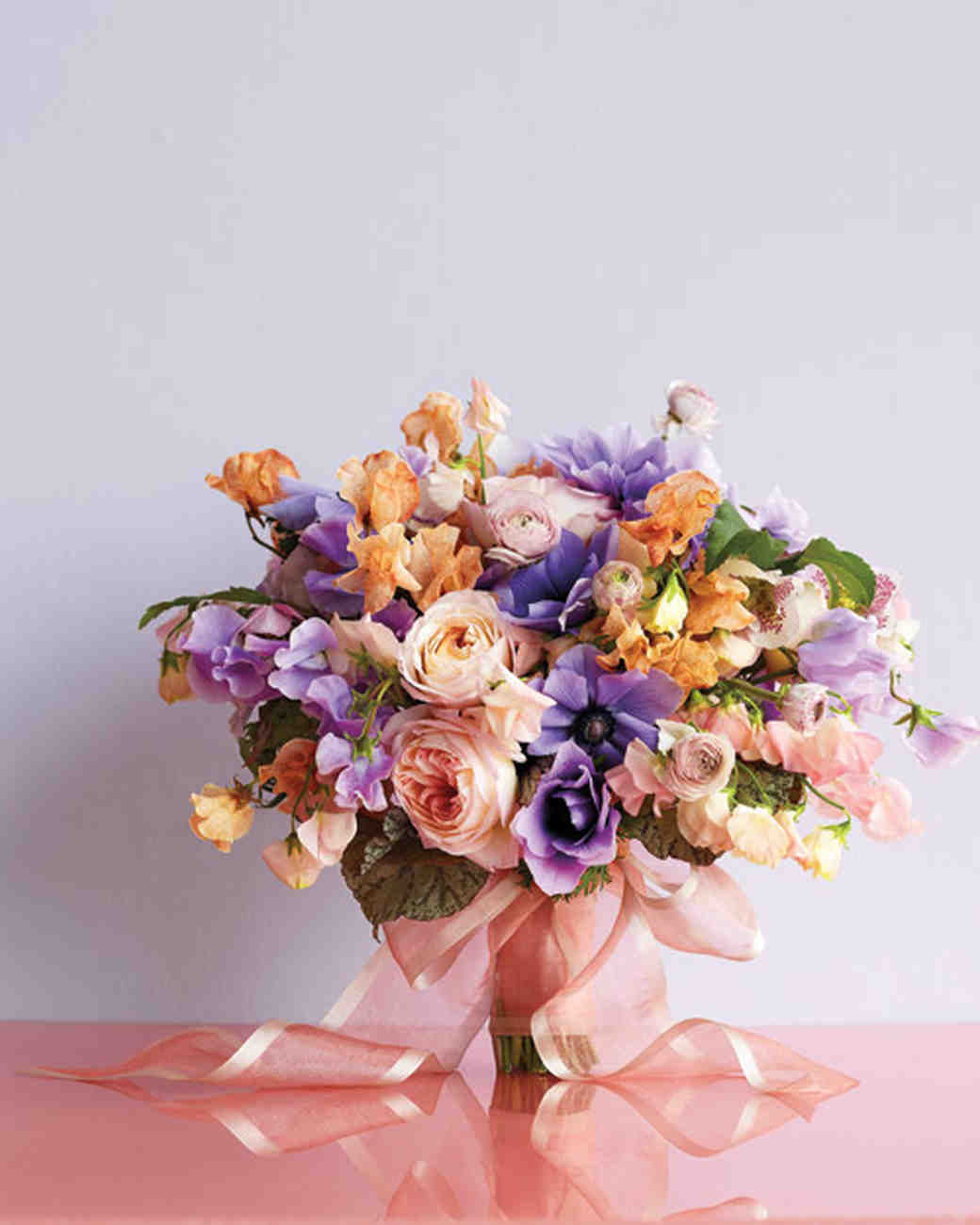 Purple wedding bouquets martha stewart weddings dhlflorist Image collections