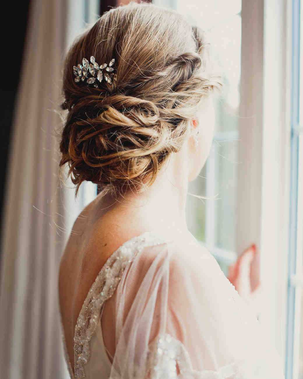 What Your Wedding Hairstyle Says About You