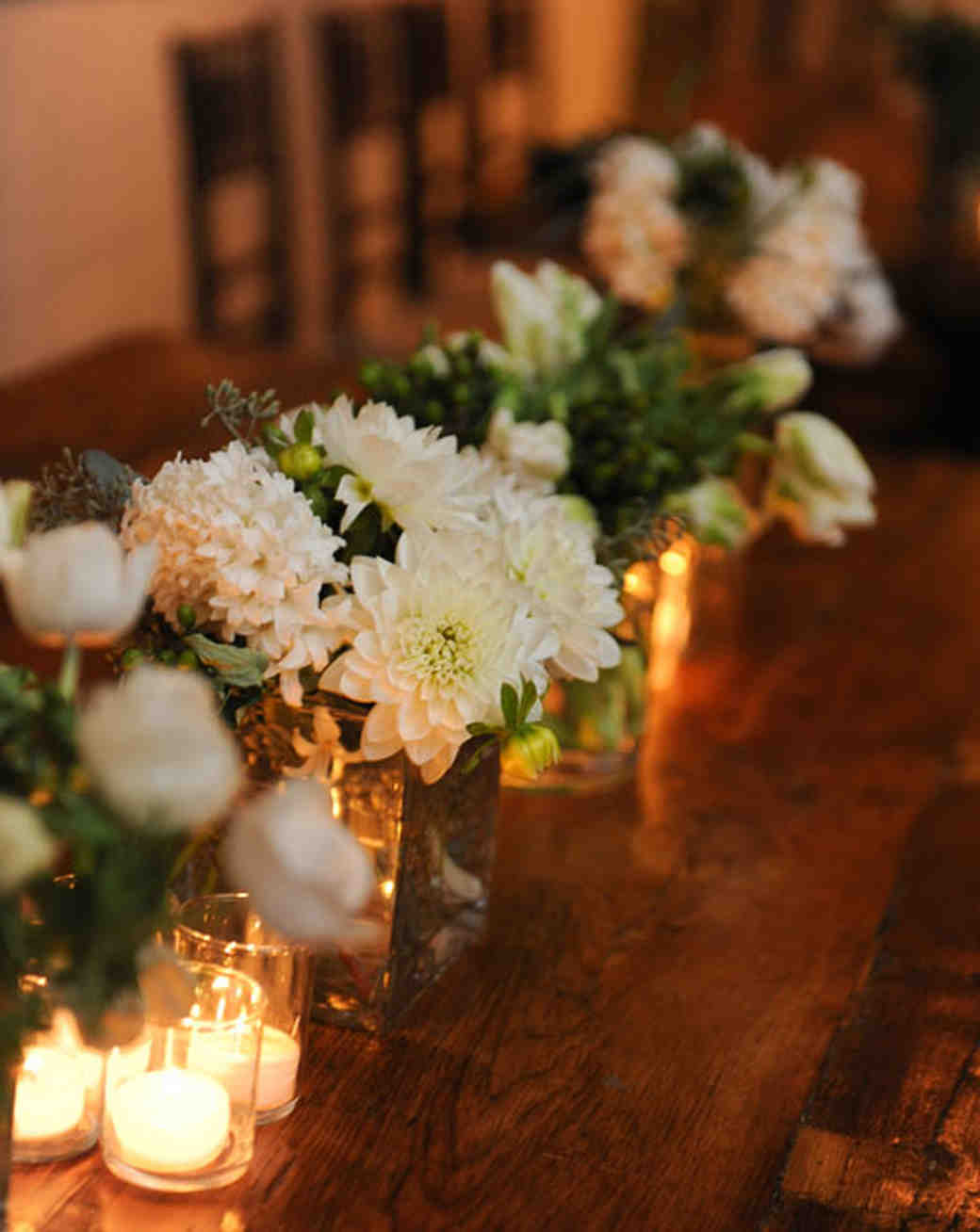 40 of our favorite floral wedding centerpieces martha stewart weddings dahlia wedding centerpieces junglespirit Image collections