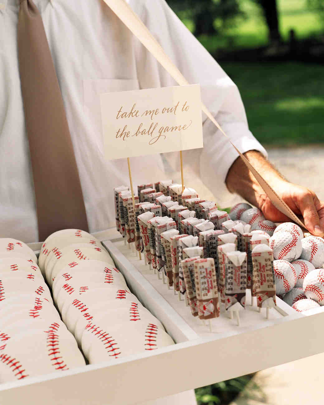 All Star Wedding Ideas For The Ultimate Sports Fan Martha Stewart