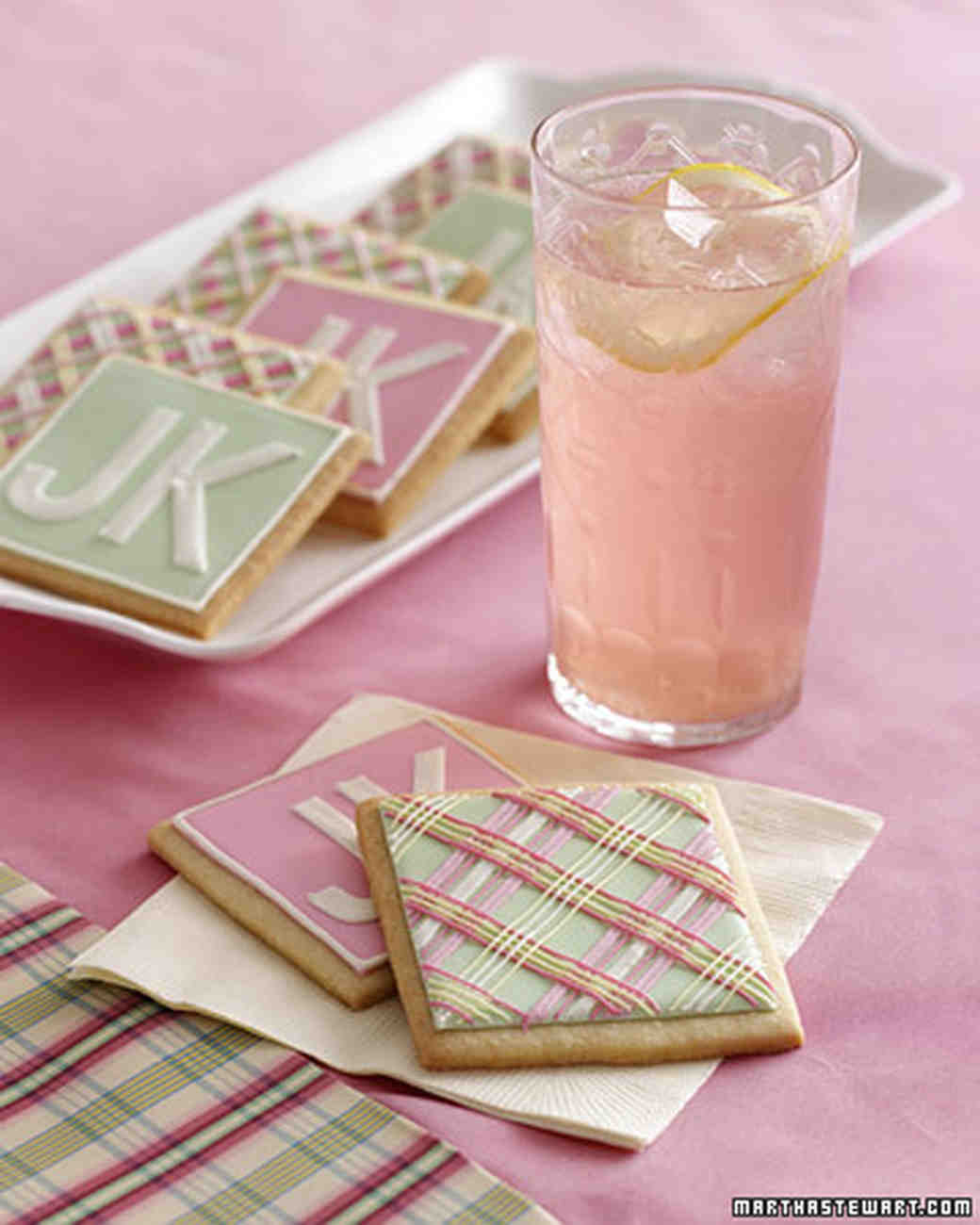 Pink Lemonade Recipe Martha Stewart Weddings