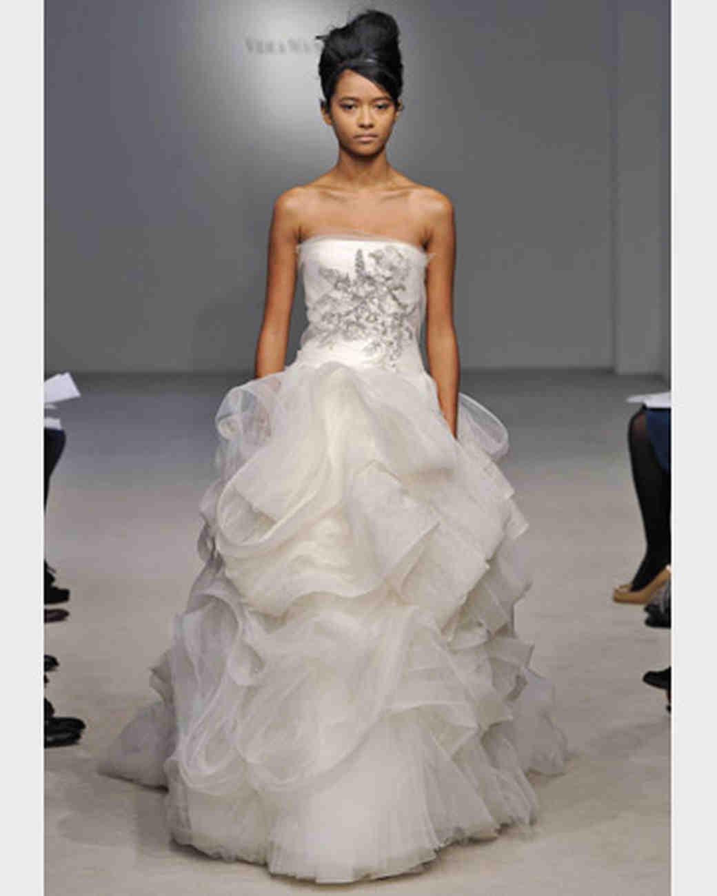 Robe de mariee haute couture vera wang