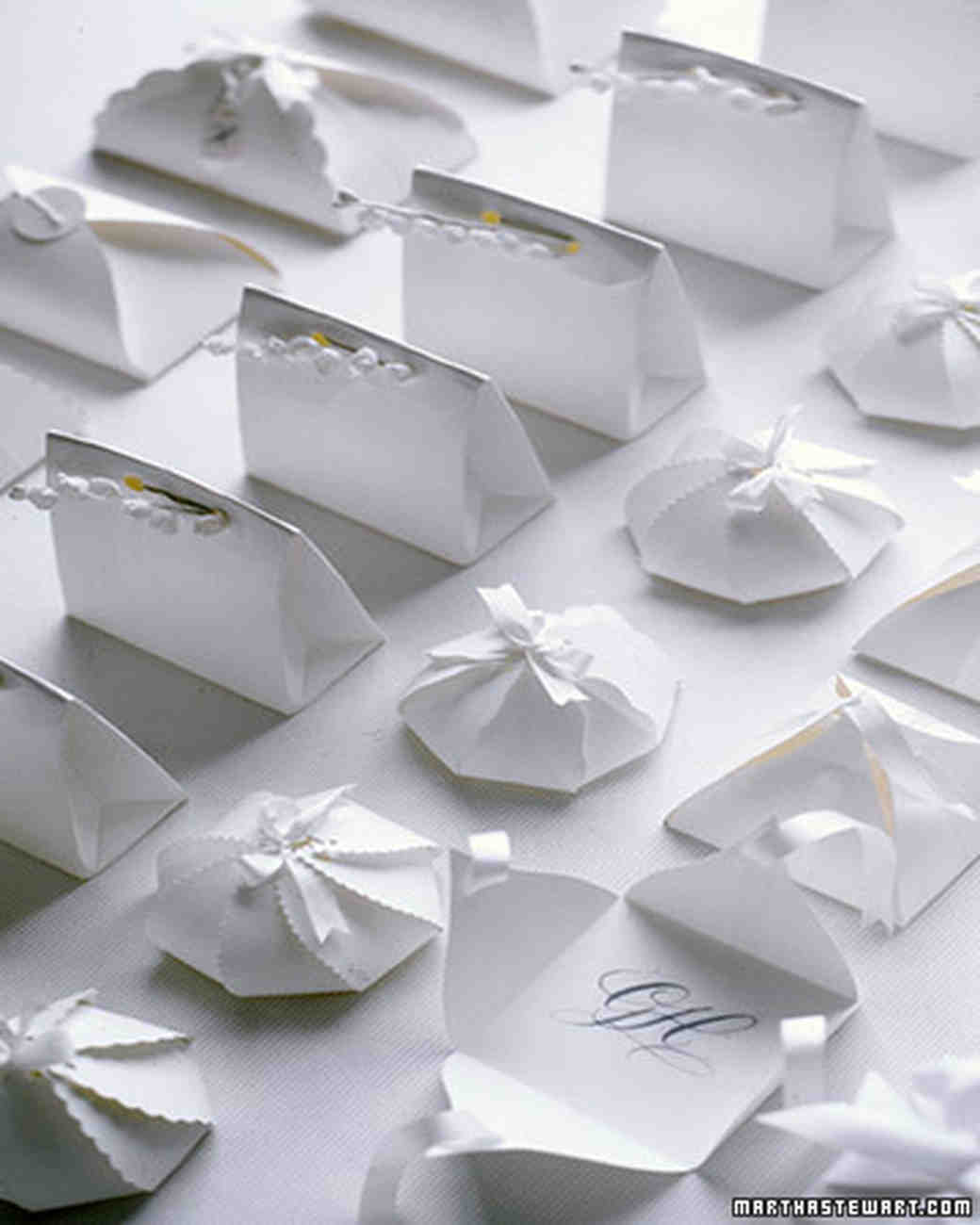 Wedding Favor Packaging Templates | Martha Stewart Weddings