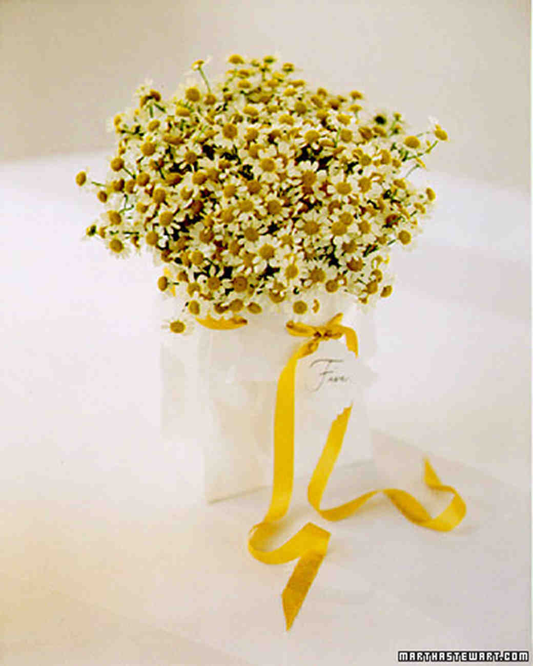 Wedding Colors Yellow And White Martha Stewart Weddings