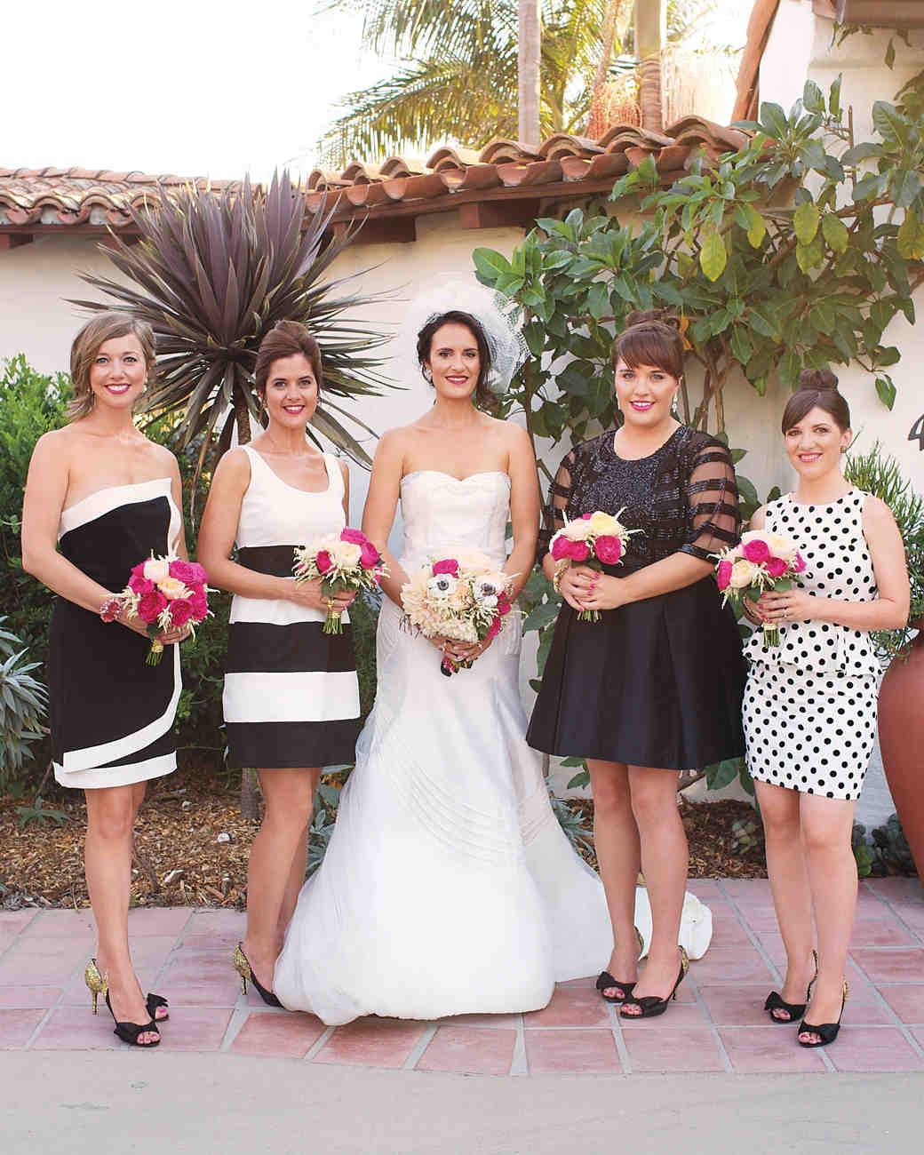Bridesmaid dress color schemes