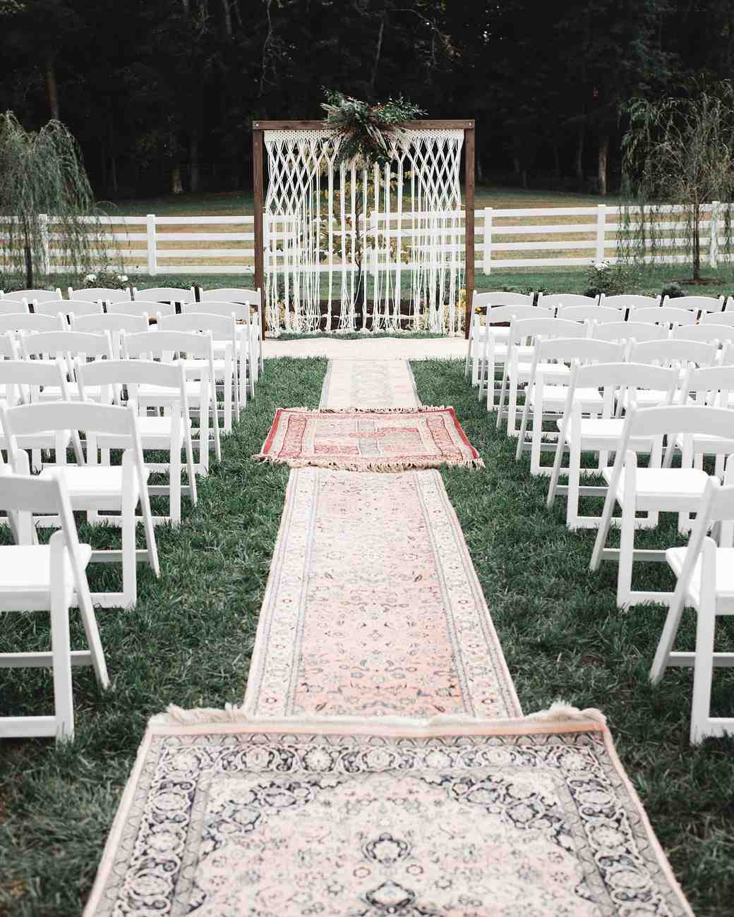 rugs ceremony site