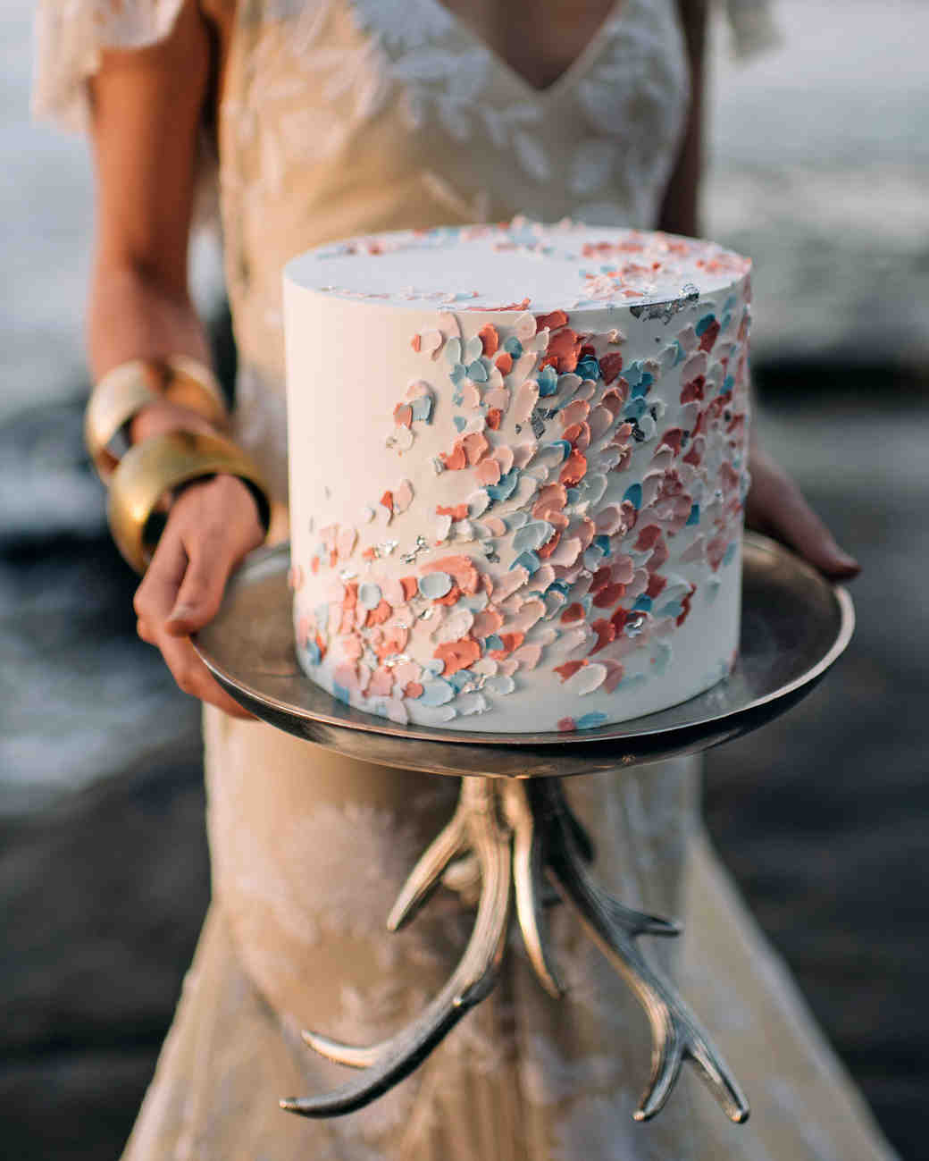simple confetti cake nisha ravji