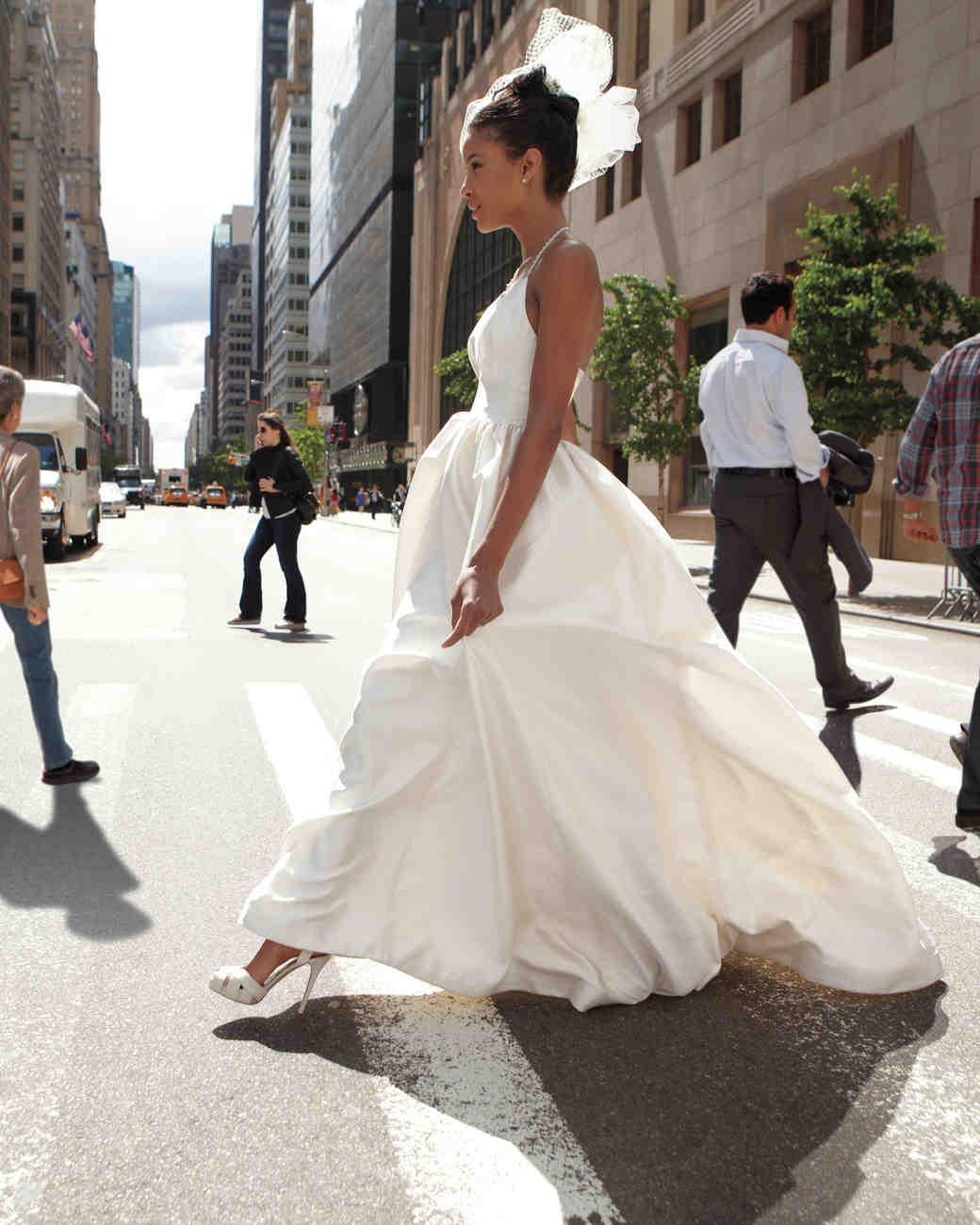 Modern wedding dresses martha stewart weddings ombrellifo Gallery