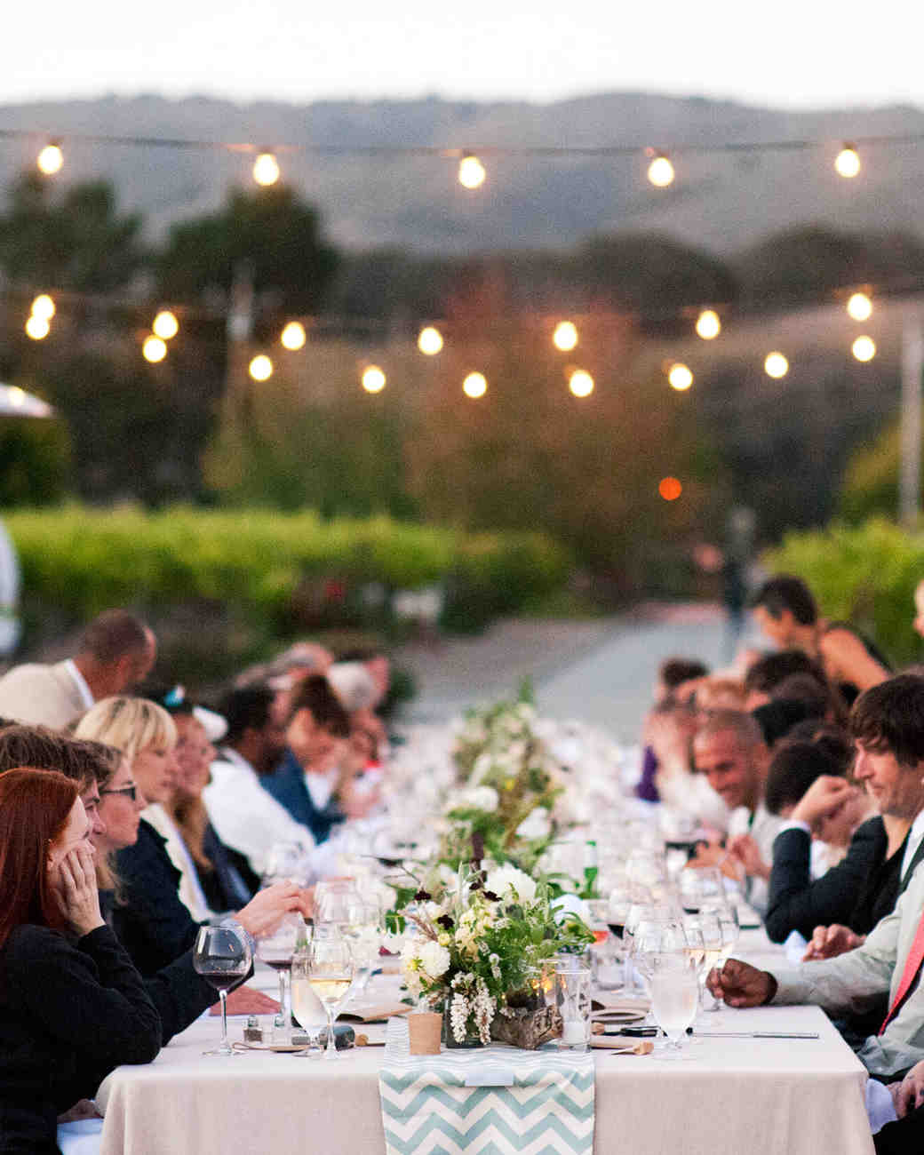 Outdoor wedding lighting ideas from real celebrations martha outdoor wedding lighting ideas from real celebrations martha stewart weddings junglespirit Images