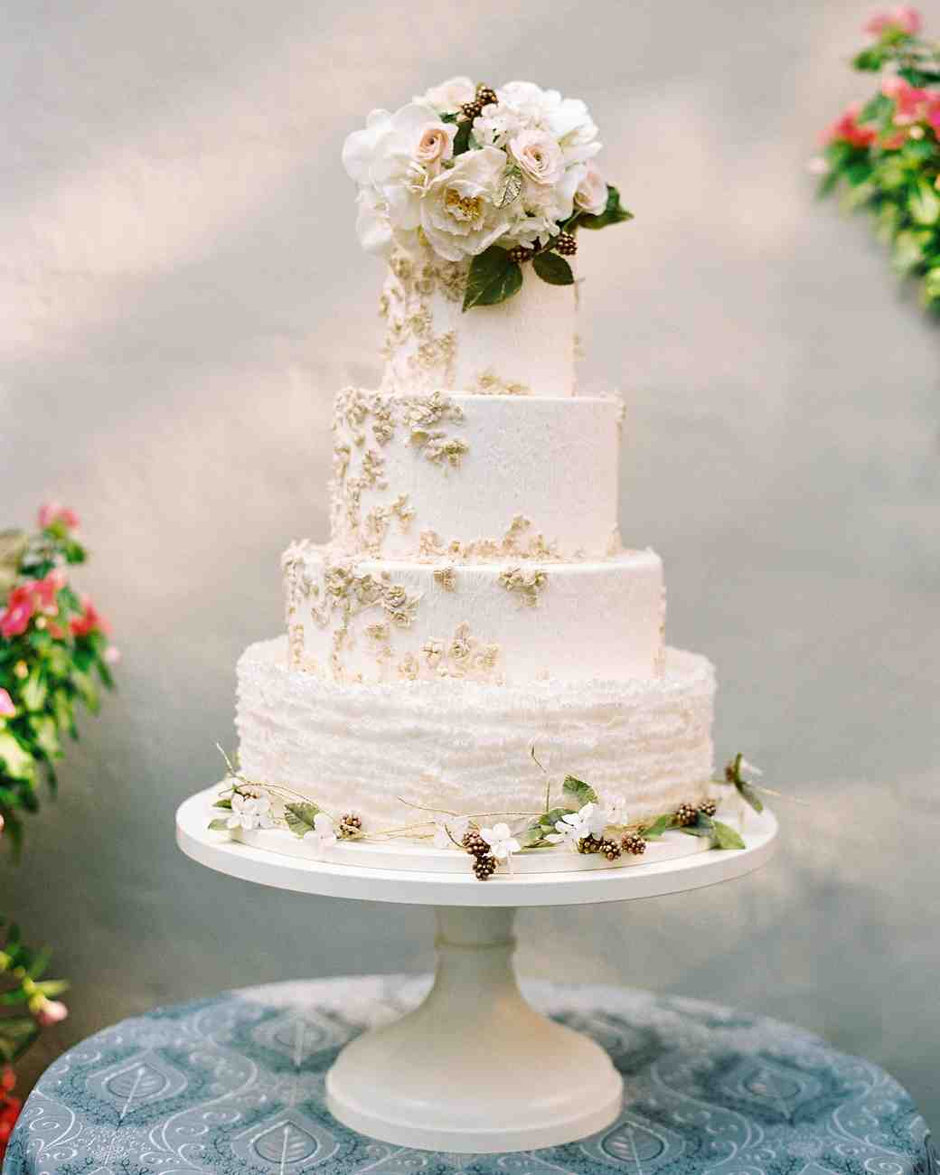 50 Beautiful Wedding Cakes That Are (Almost!) Too Pretty