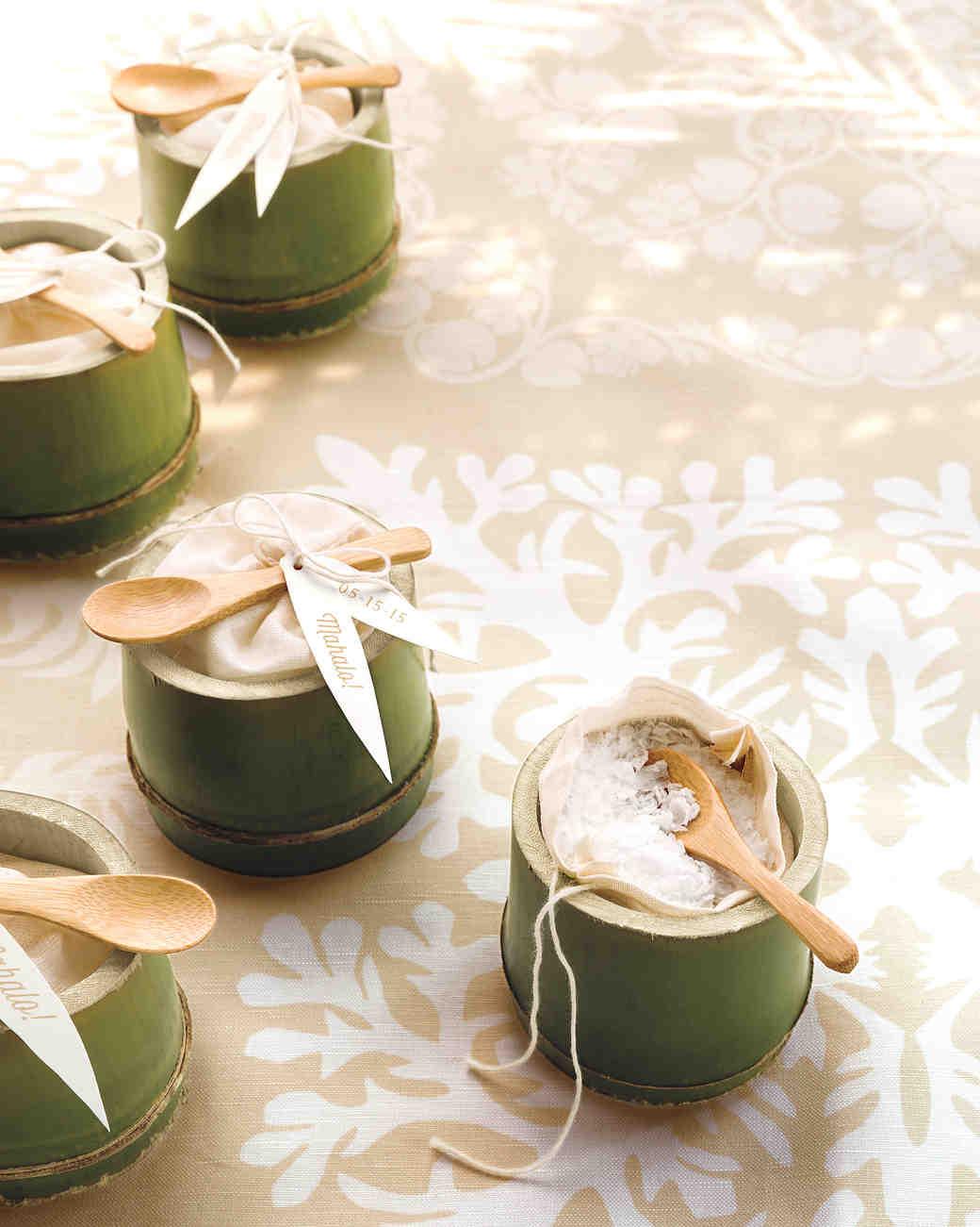 DIY Wedding Favor Ideas for a Summer Wedding Martha Stewart Weddings