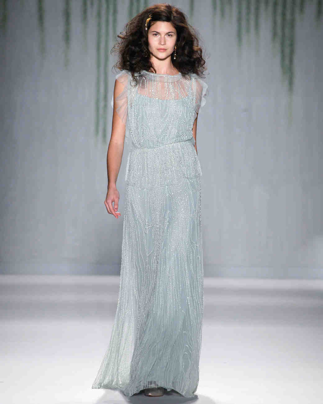 Wedding-Worthy Dresses from New York Fashion Week | Martha Stewart ...