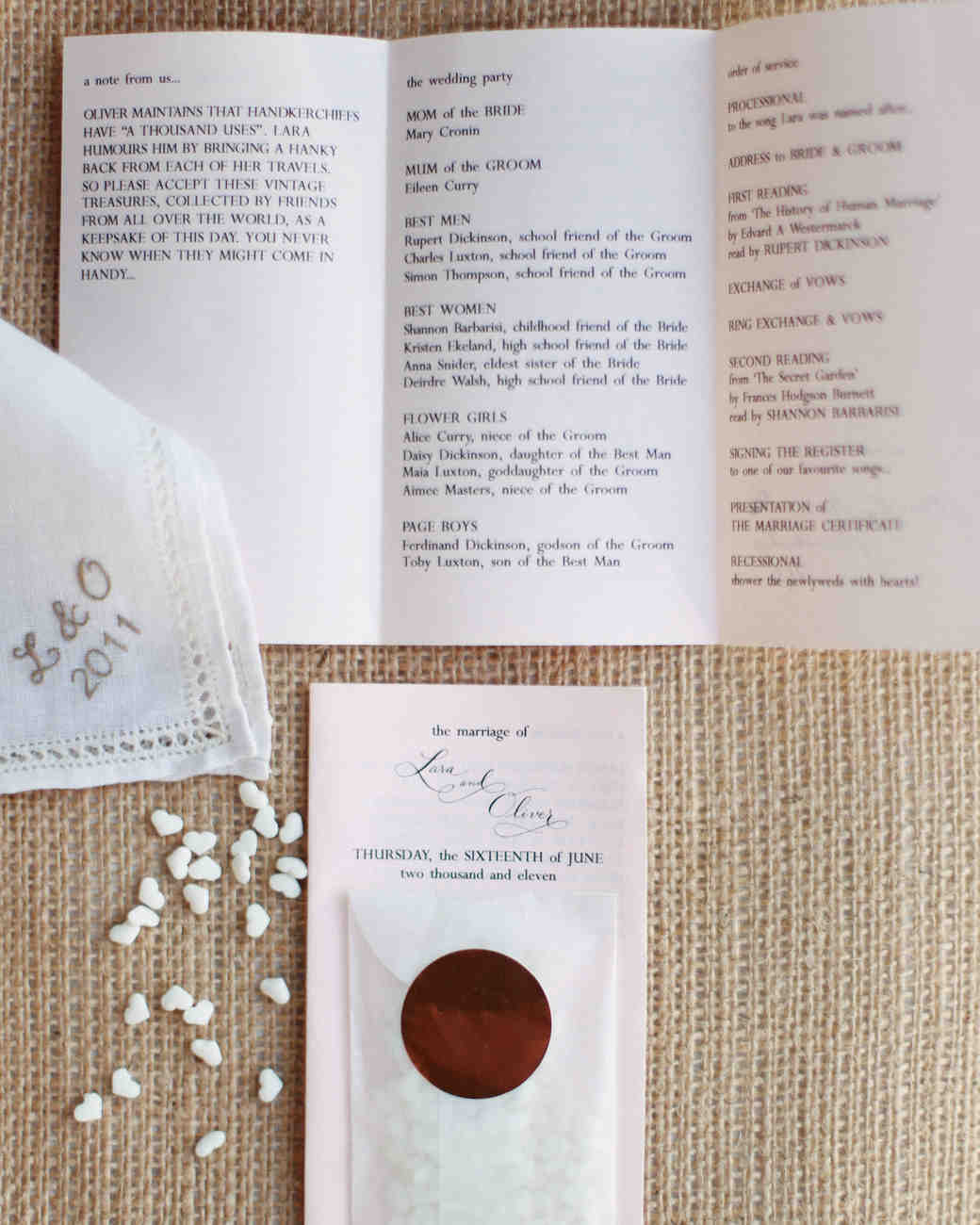 the ultimate wedding ceremony checklist martha stewart weddings