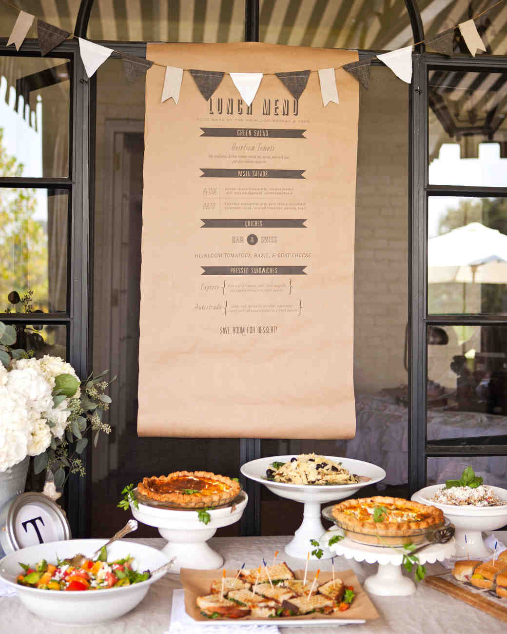 Fall Wedding Buffet Menu Ideas: 33 Pretty And Unexpected Wedding Menu Ideas