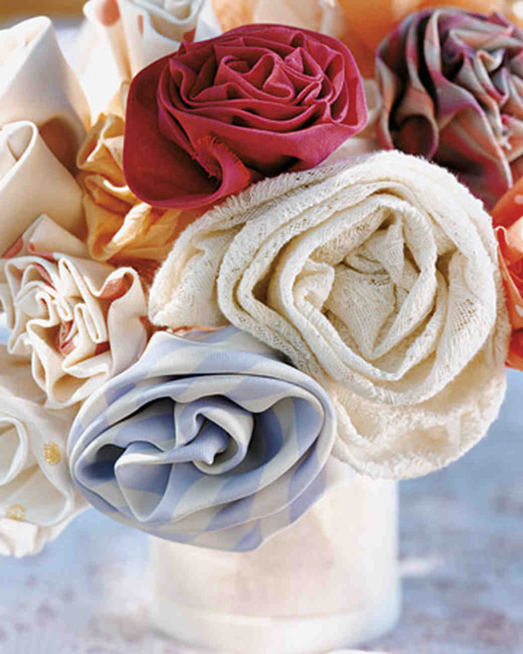 Wedding Bouquets Without A Flower In Sight