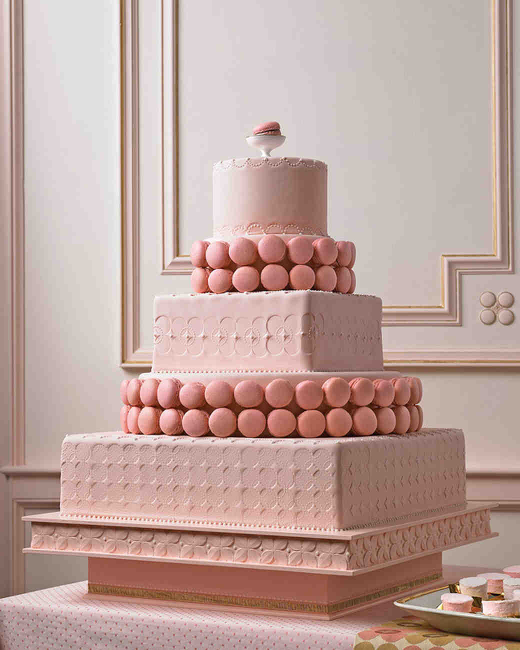 Pretty In Pink Wedding Cakes And Desserts