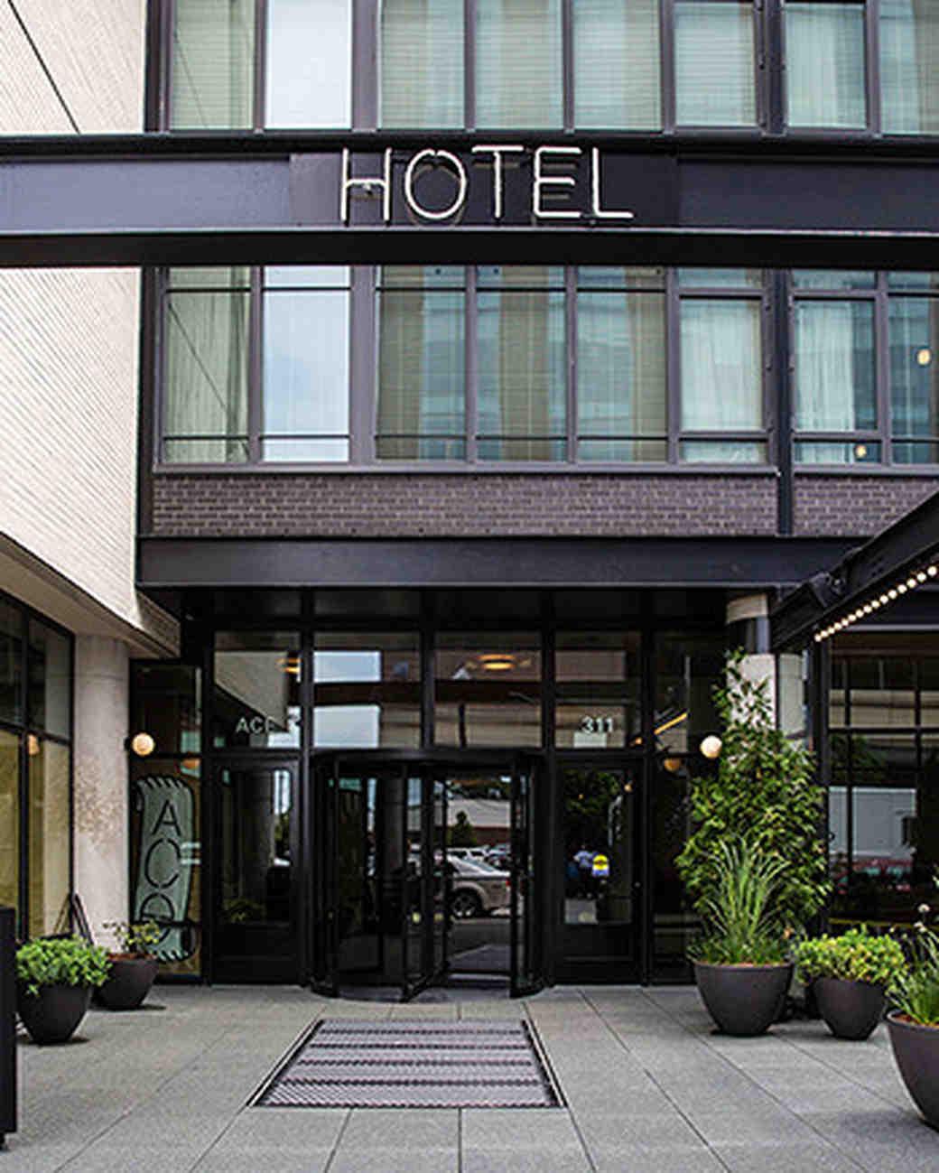 new venue hotel exterior