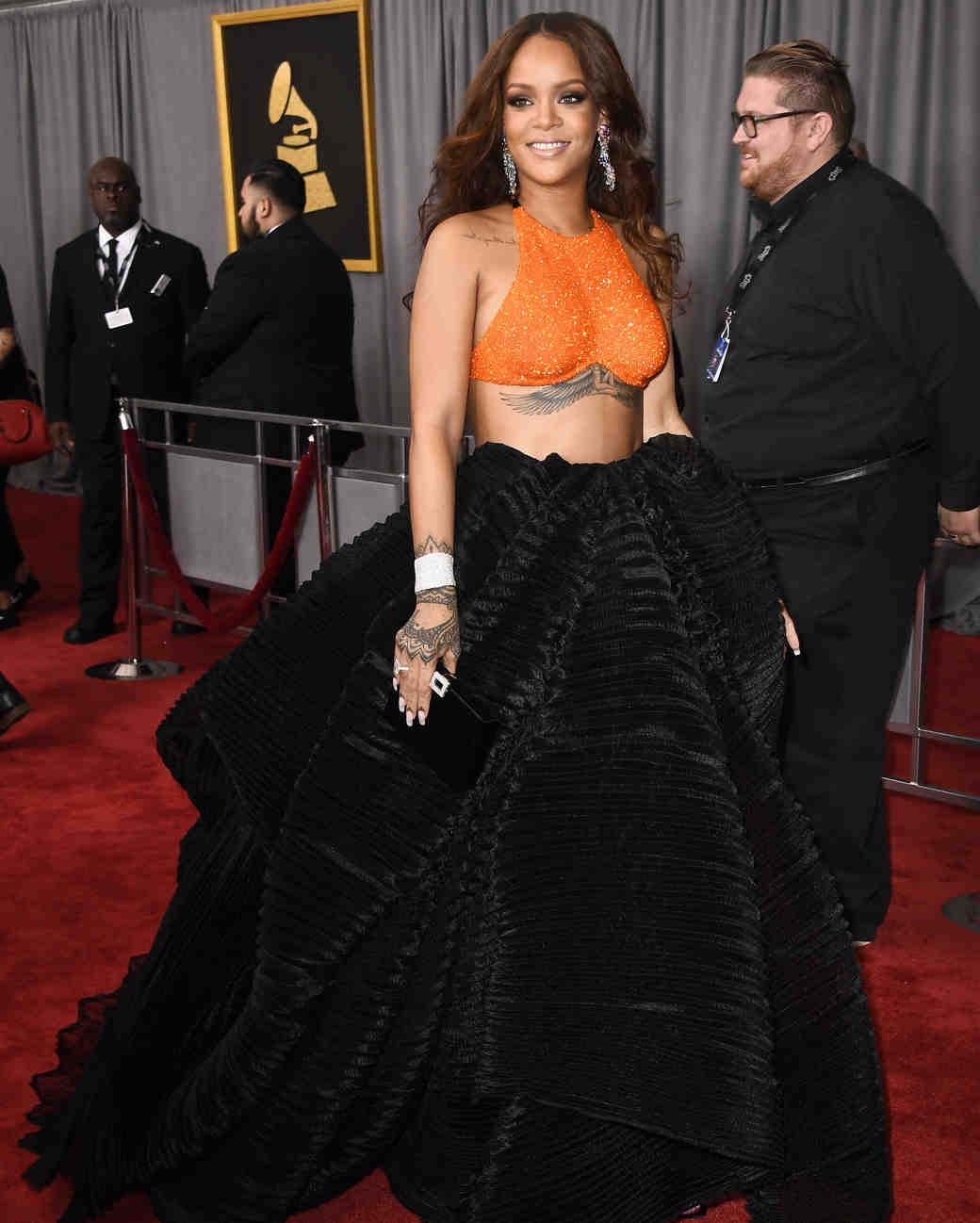 Rihanna at 2016 Grammy Awards