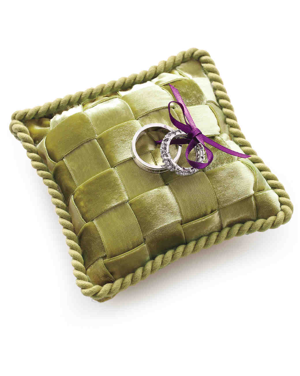 Ring Bearer Pillow Ideas You Can Make On Your Own Martha Stewart