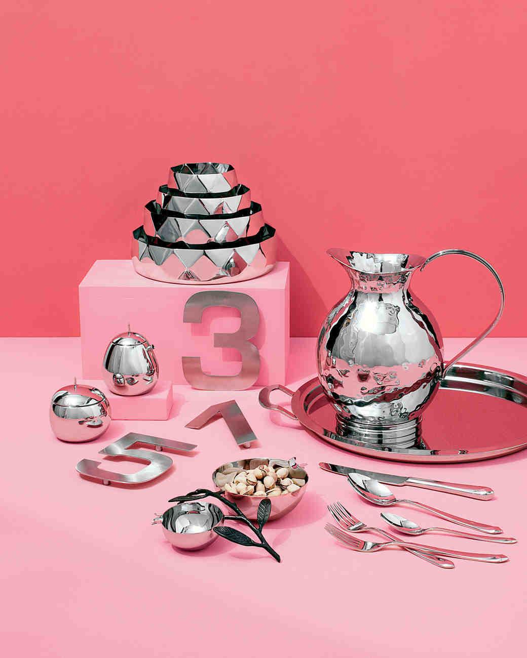 11 Stainless-Steel Bridal Registry Finds | Martha Stewart Weddings
