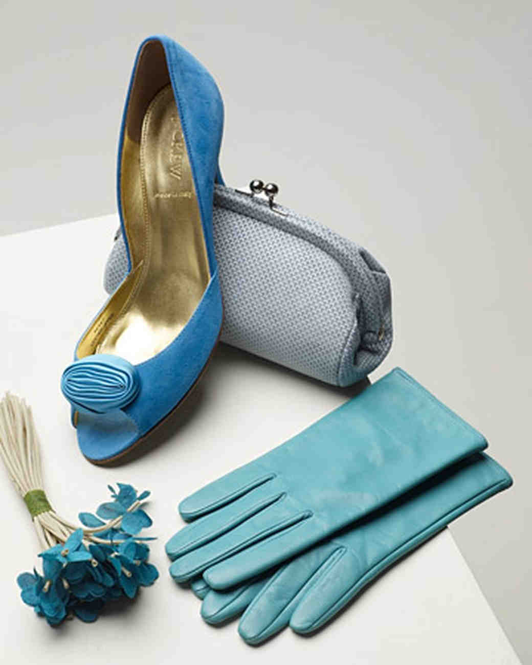 Bridal Shoes Jb: Something Blue: To Wear And To Hold