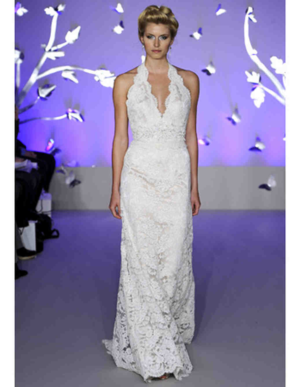 Modern Lace Wedding Dresses from Spring 2012 Bridal Fashion Week ...