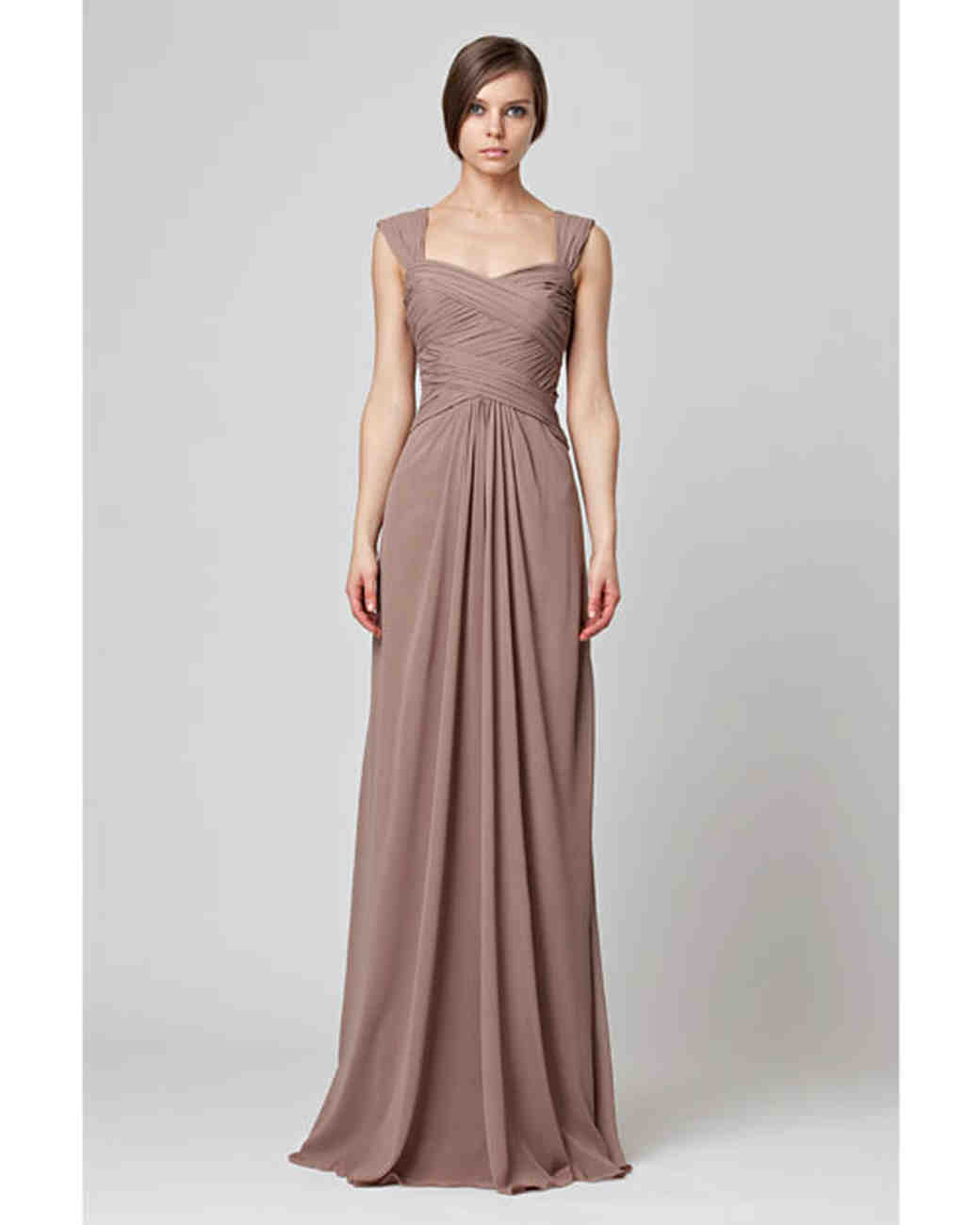 Brown Bridesmaid Dresses | Martha Stewart Weddings