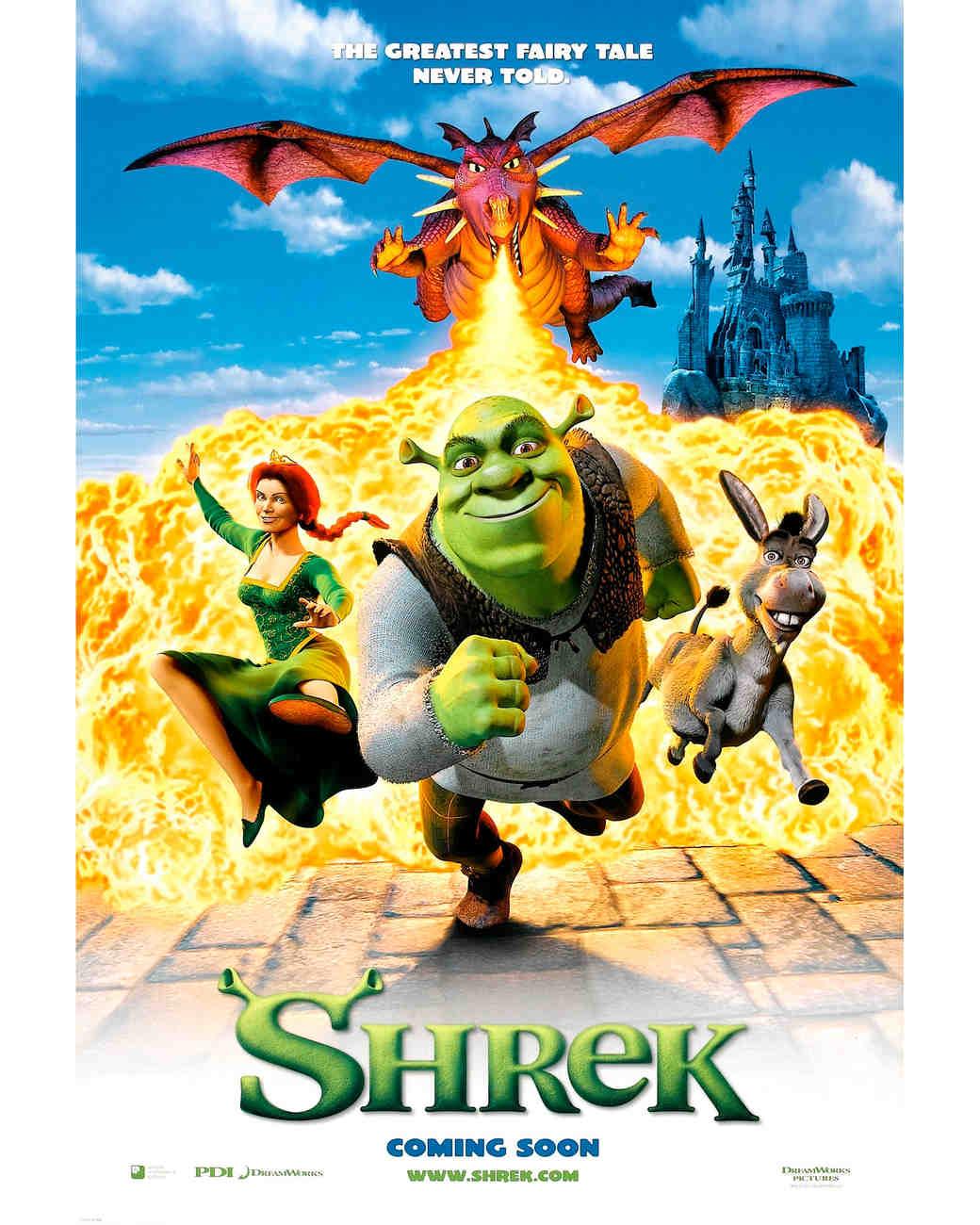 """Shrek"" promo"