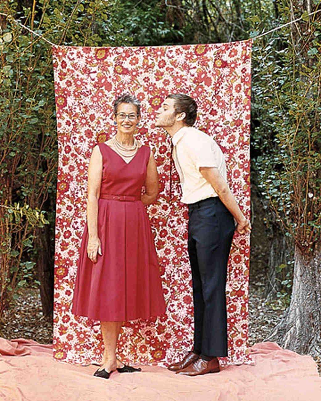 A Casual Vintage-inspired Outdoor Wedding in California | Martha ...