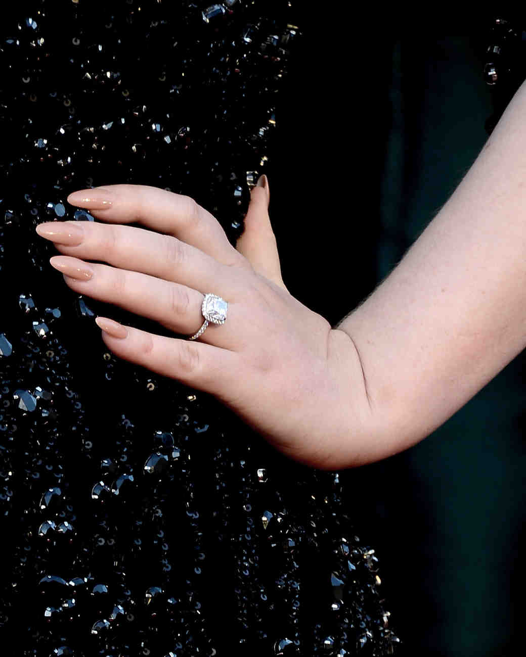 adele engagement ring