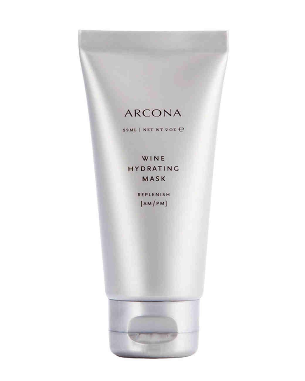 arcona wine face mask