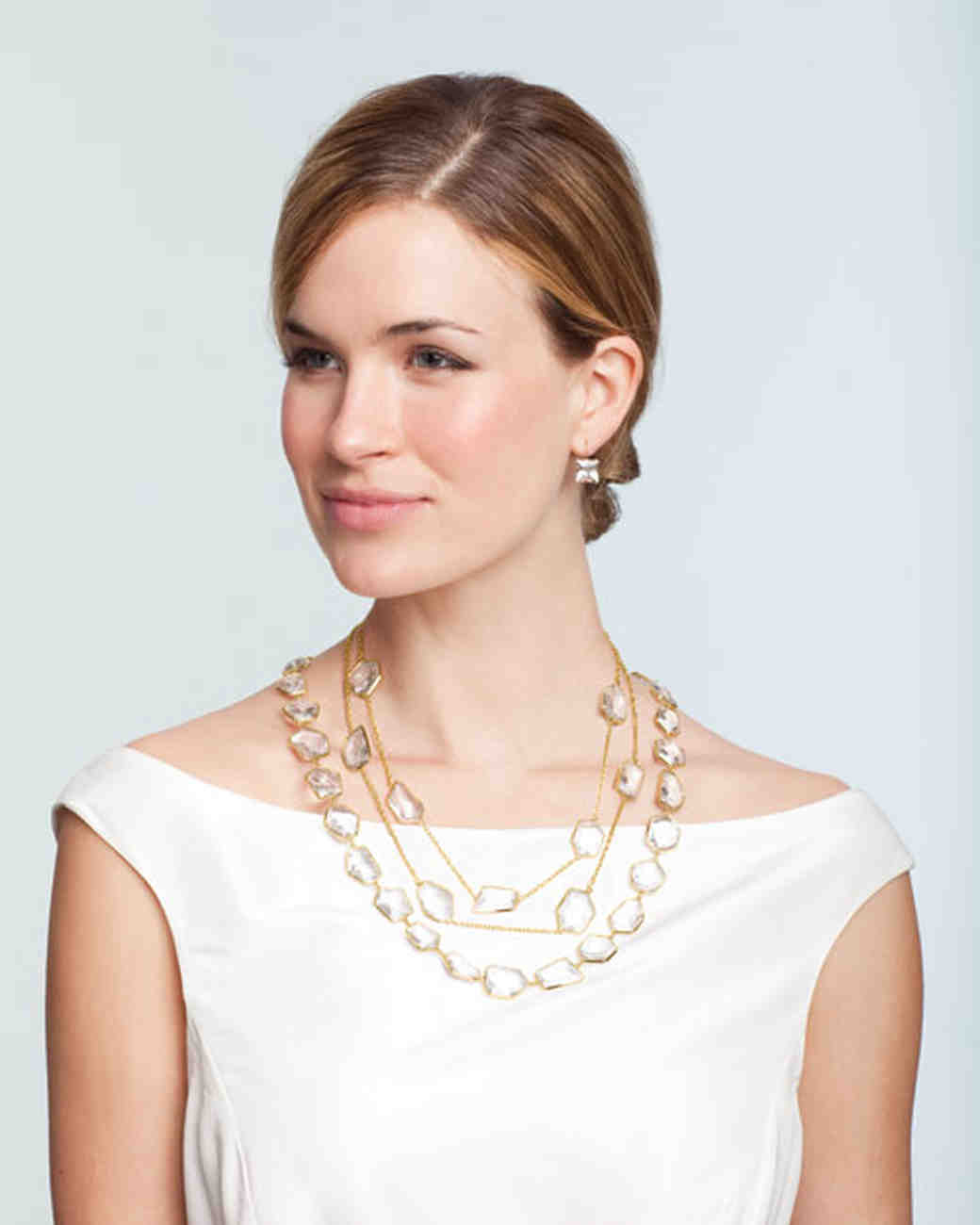 Bridal Jewelry for Every Wedding Dress Style | Martha Stewart Weddings