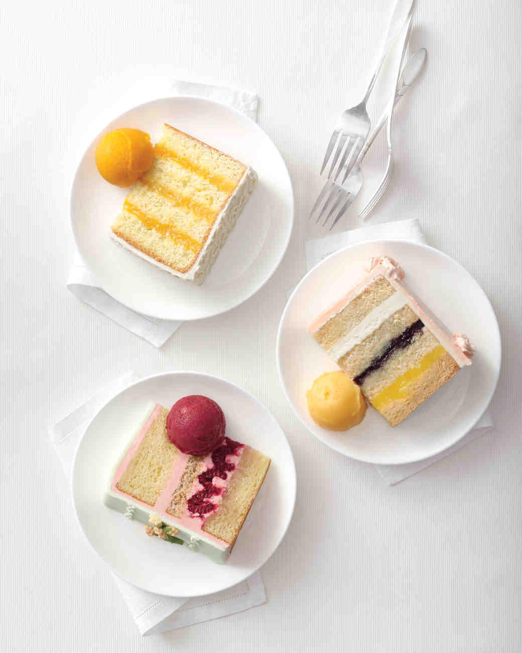 New Takes on Traditional Wedding Cake Flavors Martha Stewart Weddings