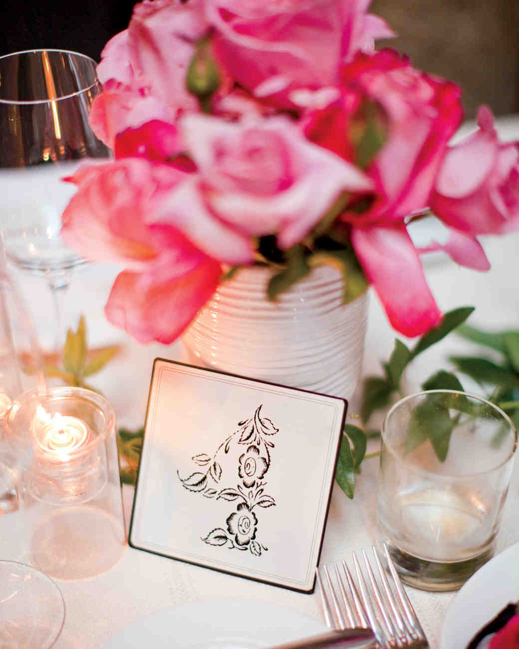 The Prettiest Wedding Table Number Ideas from Real Weddings | Martha ...