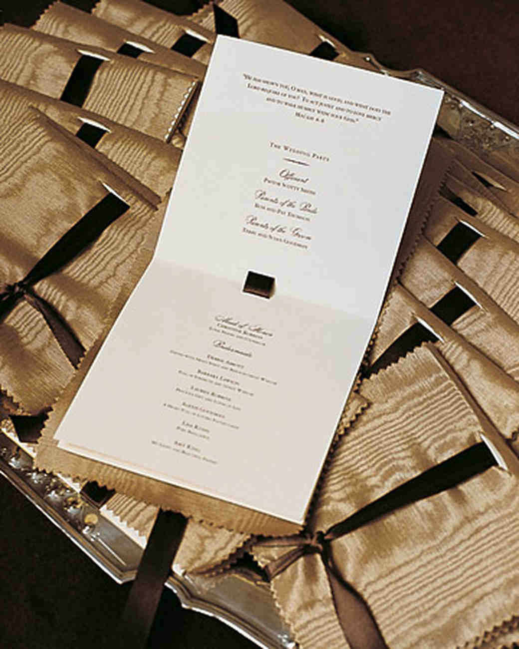 Real Weddings with Brown Ideas | Martha Stewart Weddings