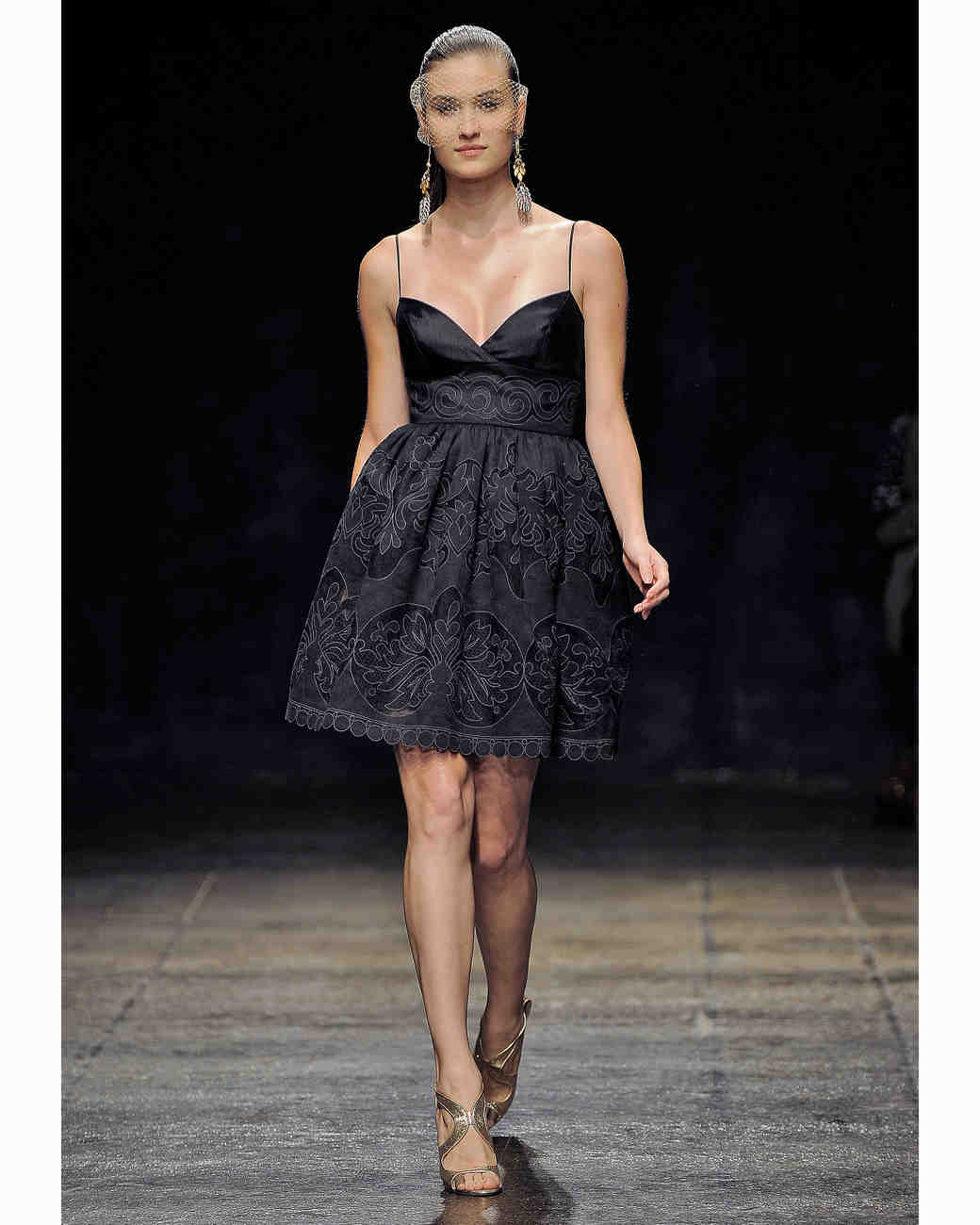 Noir by lazaro fall 2013 bridesmaid collection martha stewart short black bridesmaid dress noir by lazaro ombrellifo Image collections