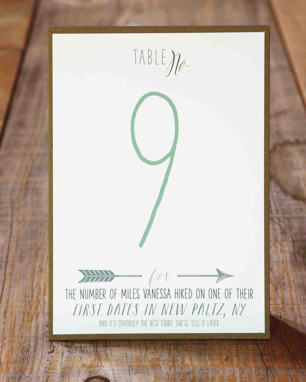 10 Table Numbers From Vanessa and Lauren\'s Wedding That Add Up to ...