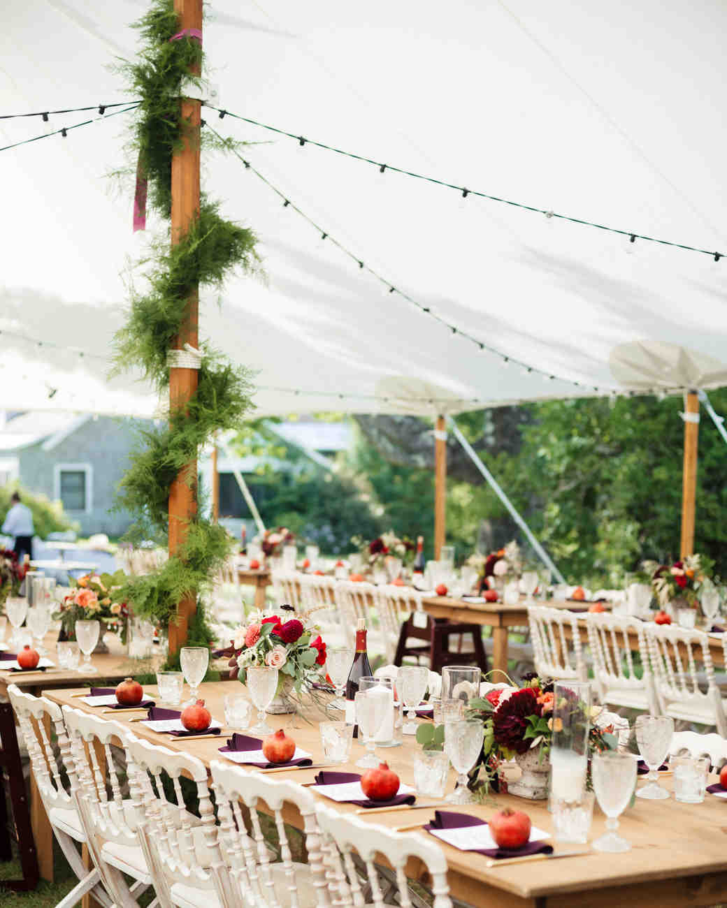 28 Tent Decorating Ideas That Will Upgrade Your Wedding Reception | Martha Stewart Weddings : wedding reception tent - memphite.com