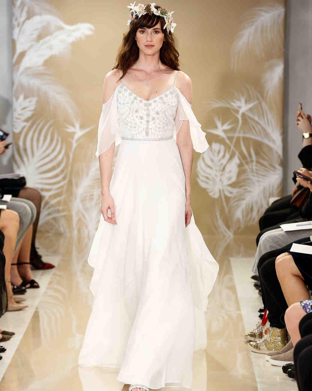 Sweetheart Ruffles Daria's Wedding Dress With