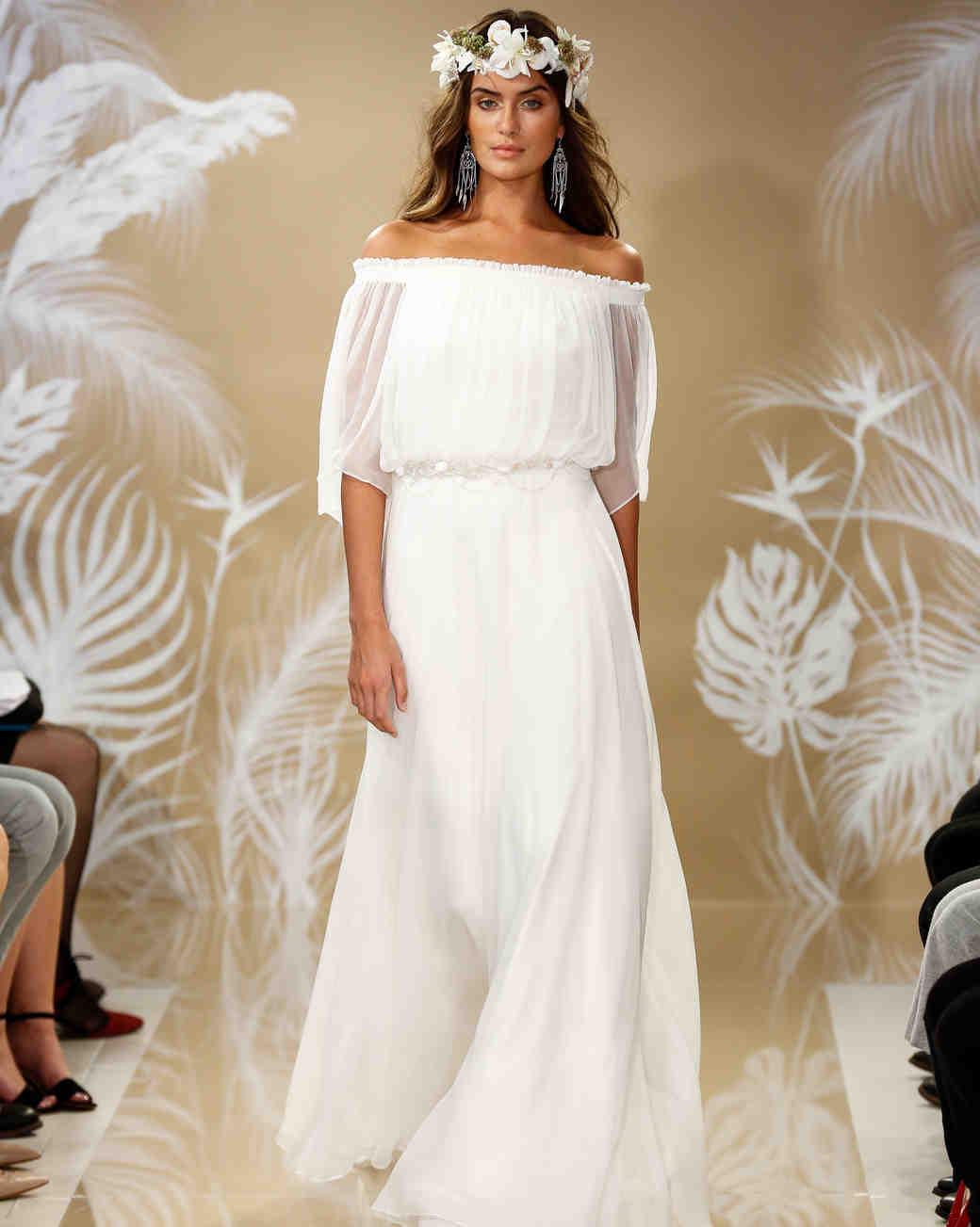THEIA Fall 2017 Wedding Dress Collection | Martha Stewart Weddings