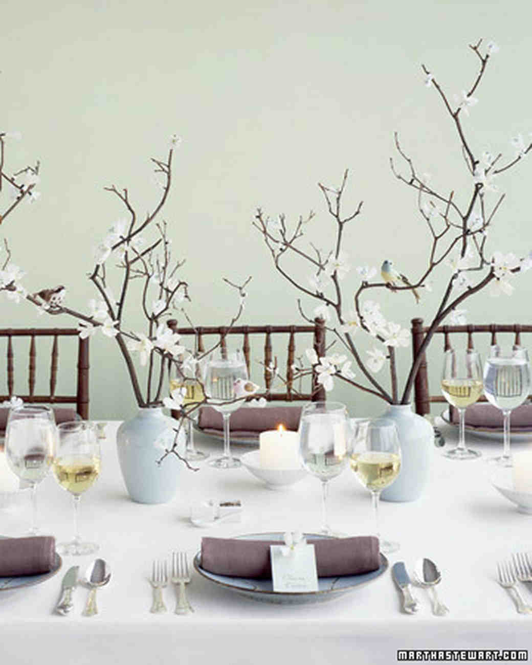 Twigs and Branches Wedding Ideas | Martha Stewart Weddings