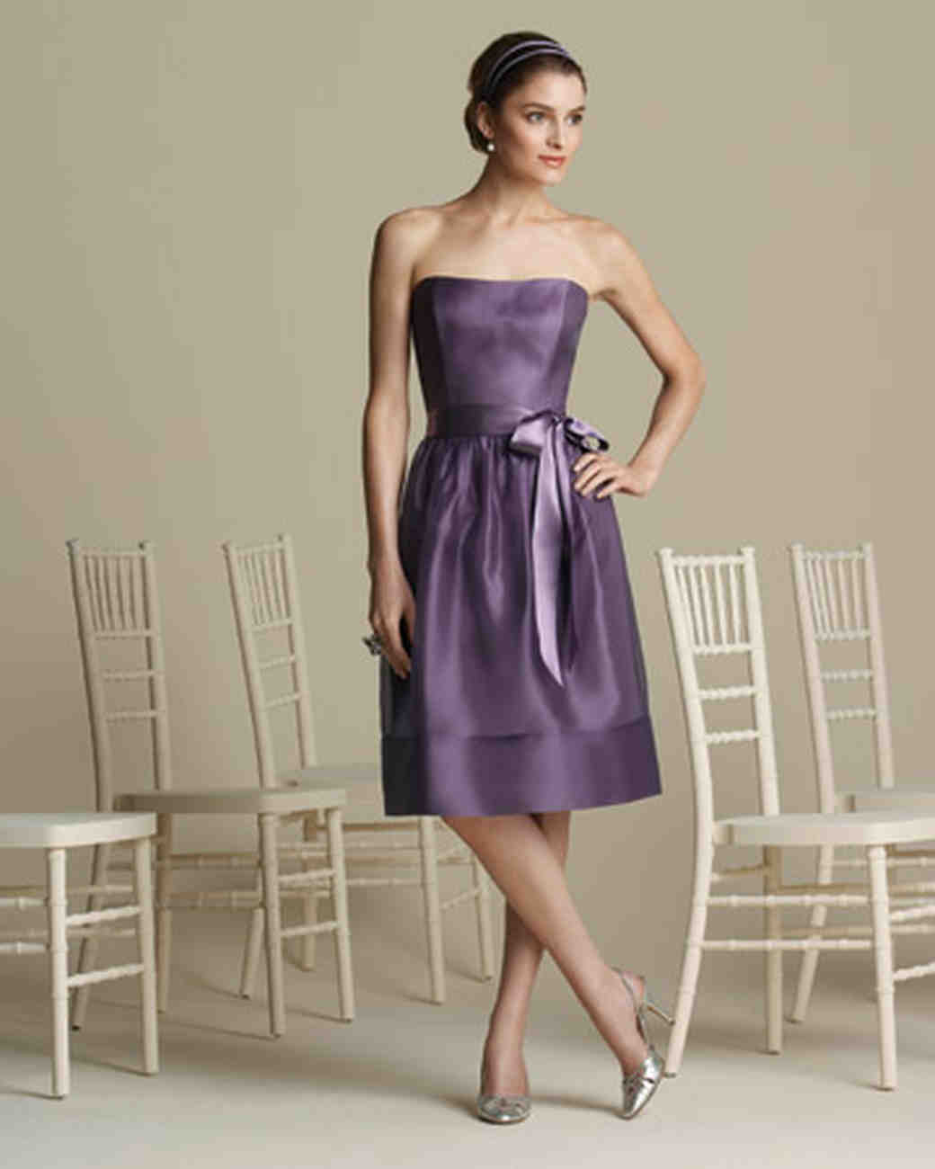 Lavender and purple bridesmaid dresses martha stewart weddings ombrellifo Image collections