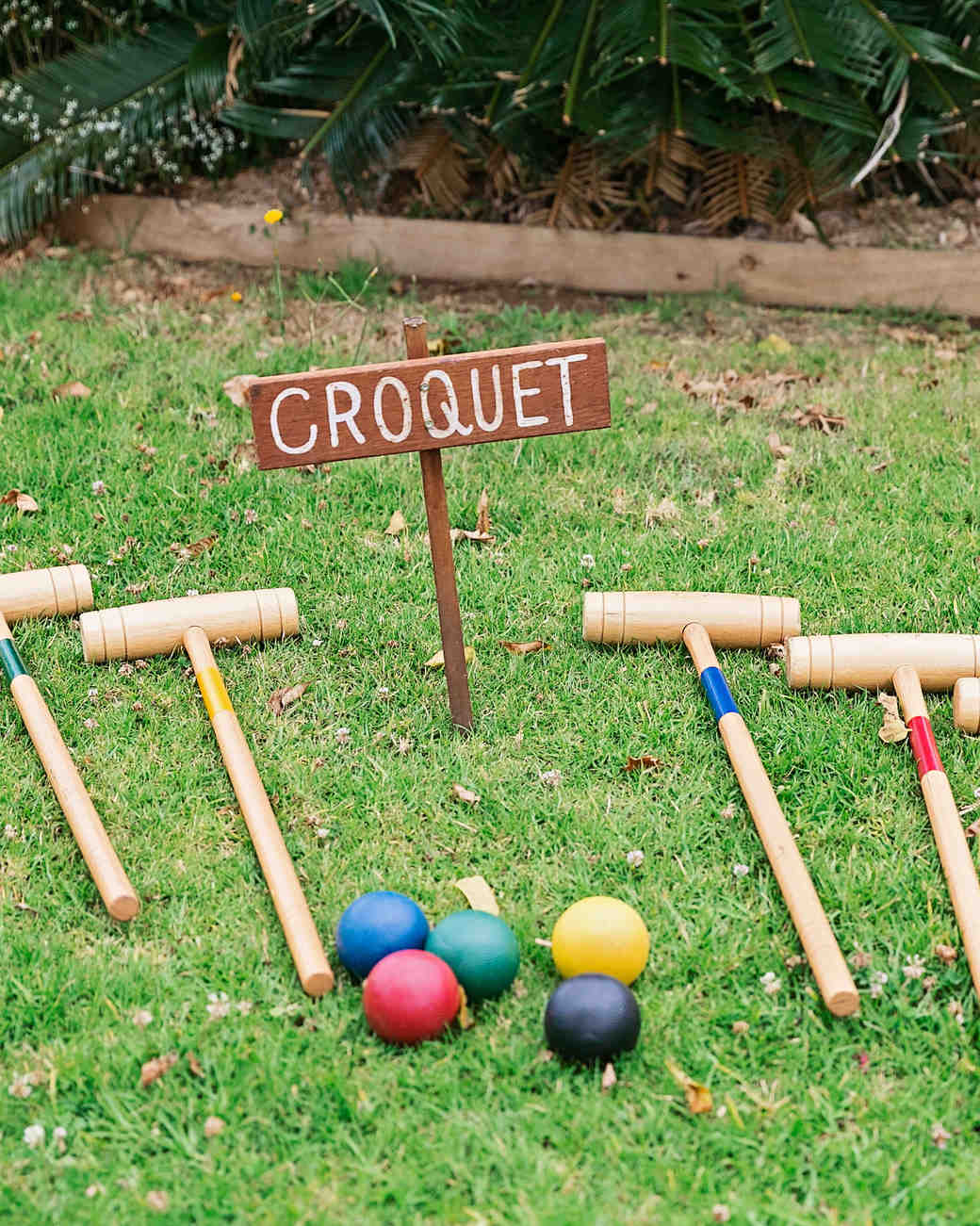 wedding games croquet