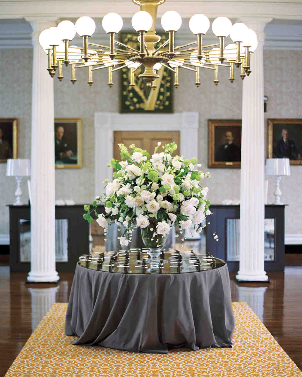 Wedding reception entrance decor - Dramatic Entrance