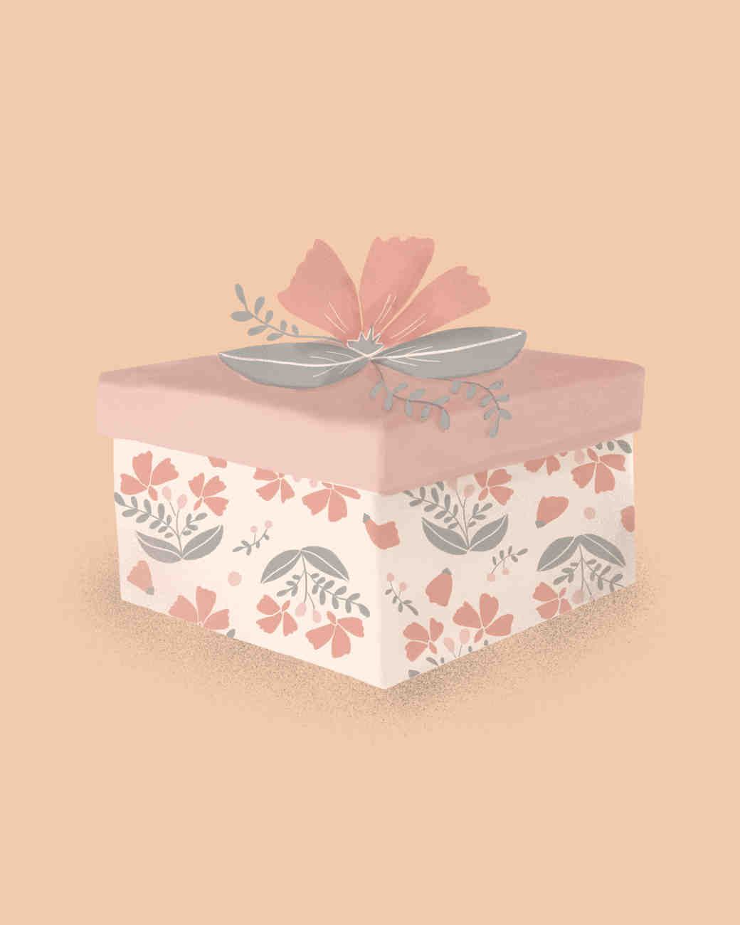 Bride Gift Guide Illustrated Gift Box