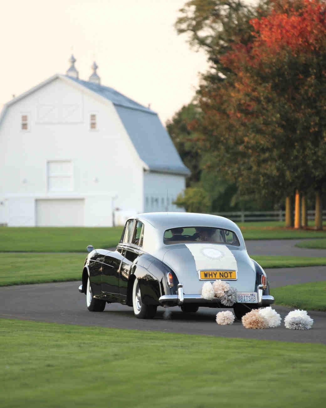Rolls-Royce getaway car