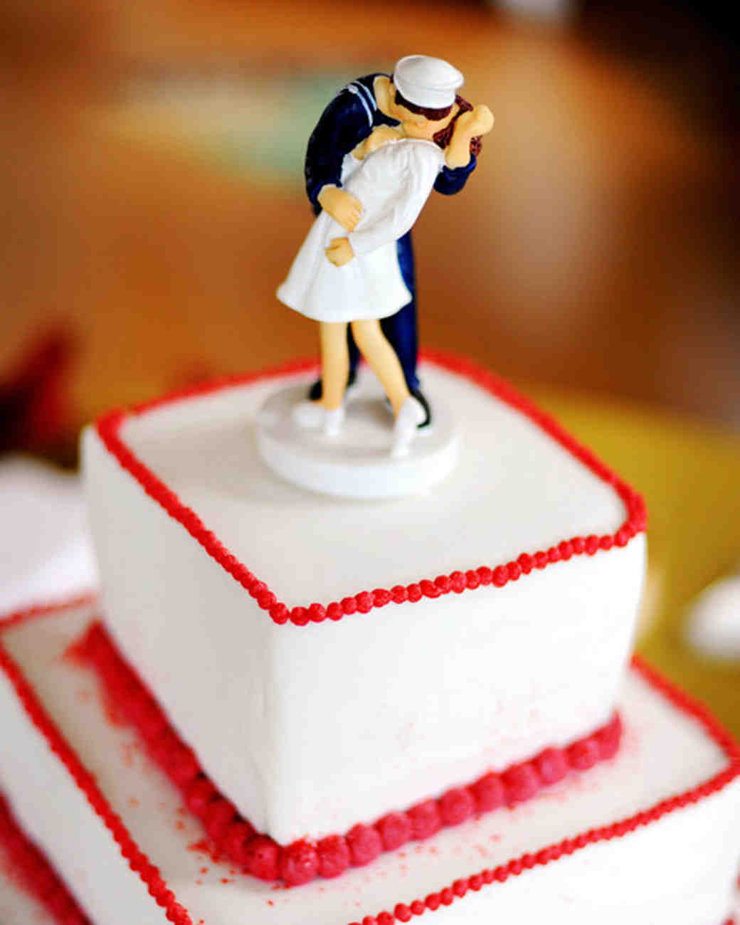 sailor and nurse wedding cake topper best cake toppers martha stewart weddings 19619