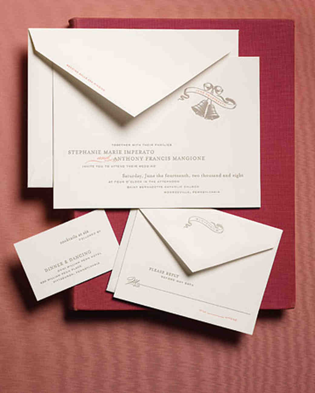 Anatomy of an Invitation for Every Style of Event | Martha Stewart ...