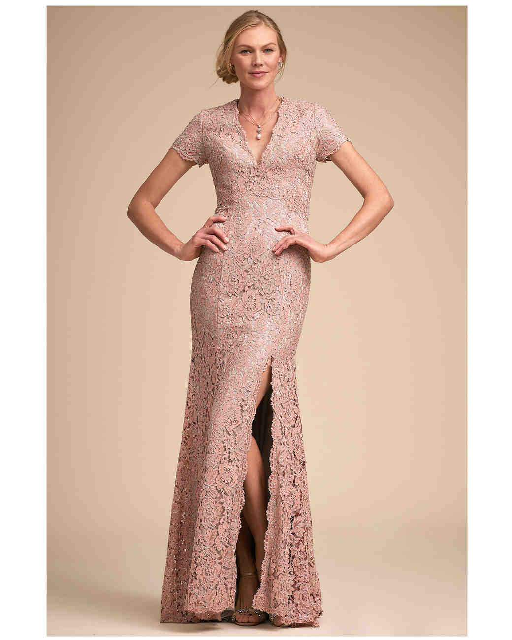 cc01a8c0c9 The Prettiest Pink Mother-of-the-Bride and-Groom Dresses